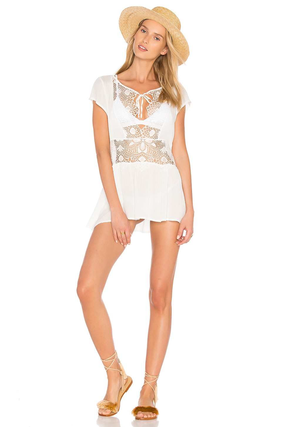 St Kitts Mini Dress by For Love & Lemons Swimwear