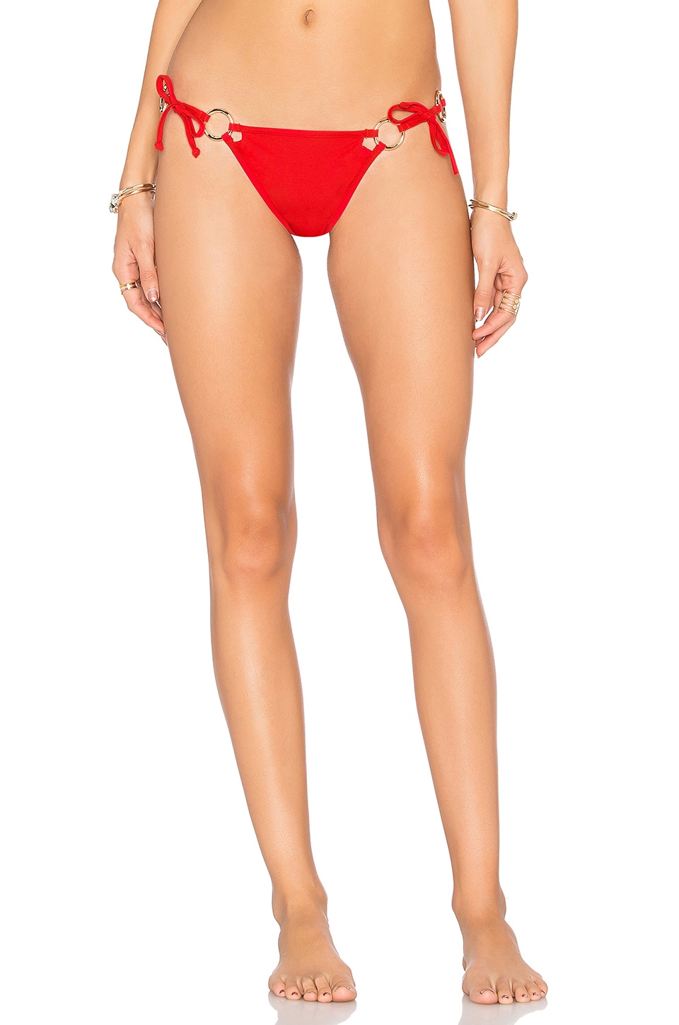 Mallorca Ring Bow Bottom by For Love & Lemons Swimwear