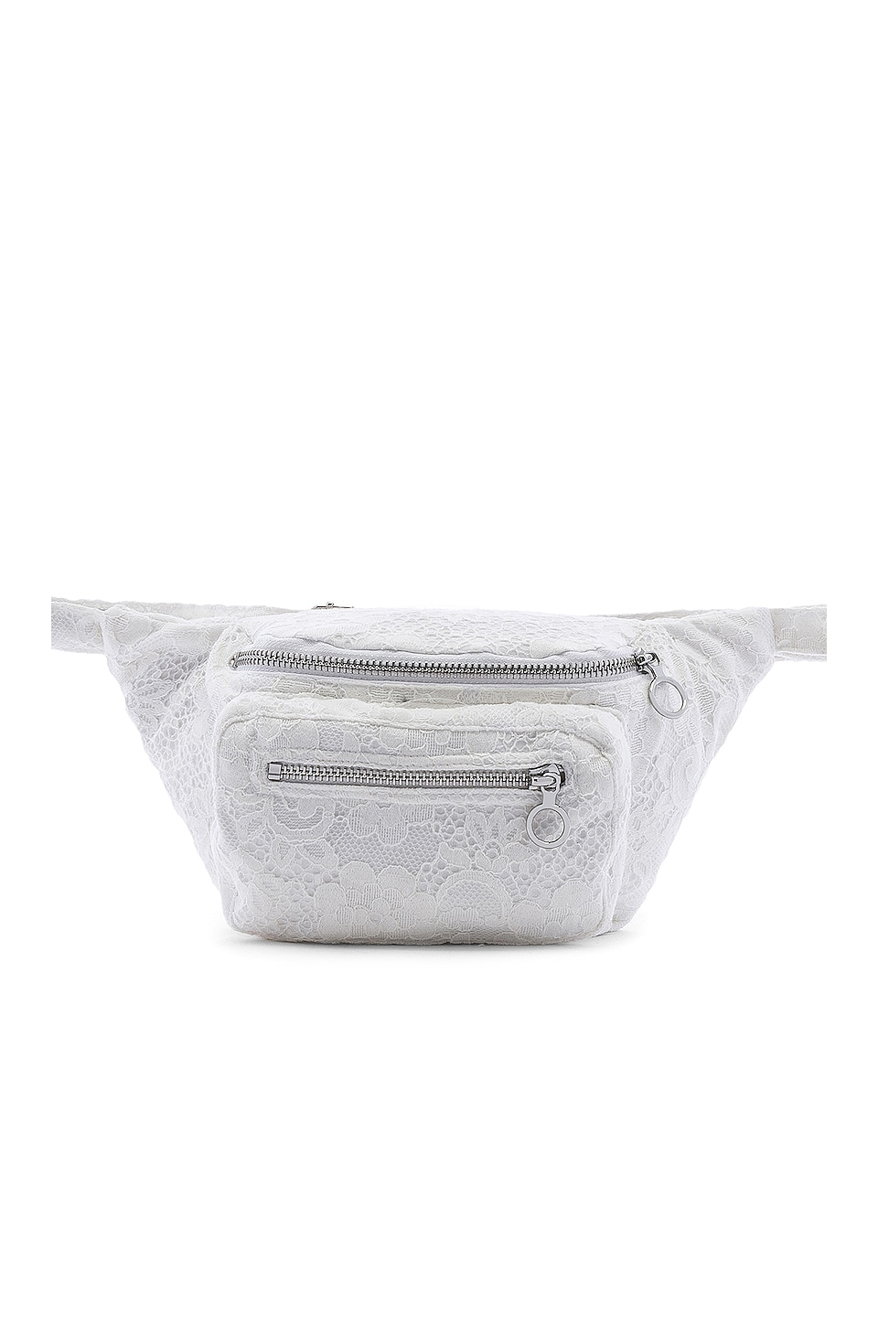 For Love & Lemons Cade Fanny Pack in White