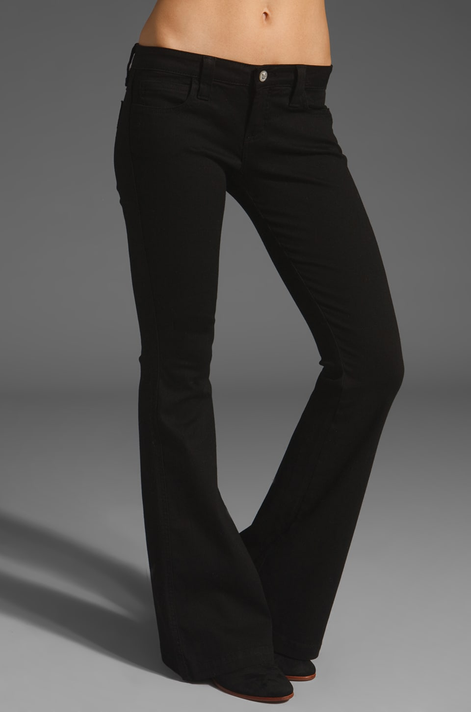 Frankie B. Jeans Limited Edition Famous Bootcut Jean in Black