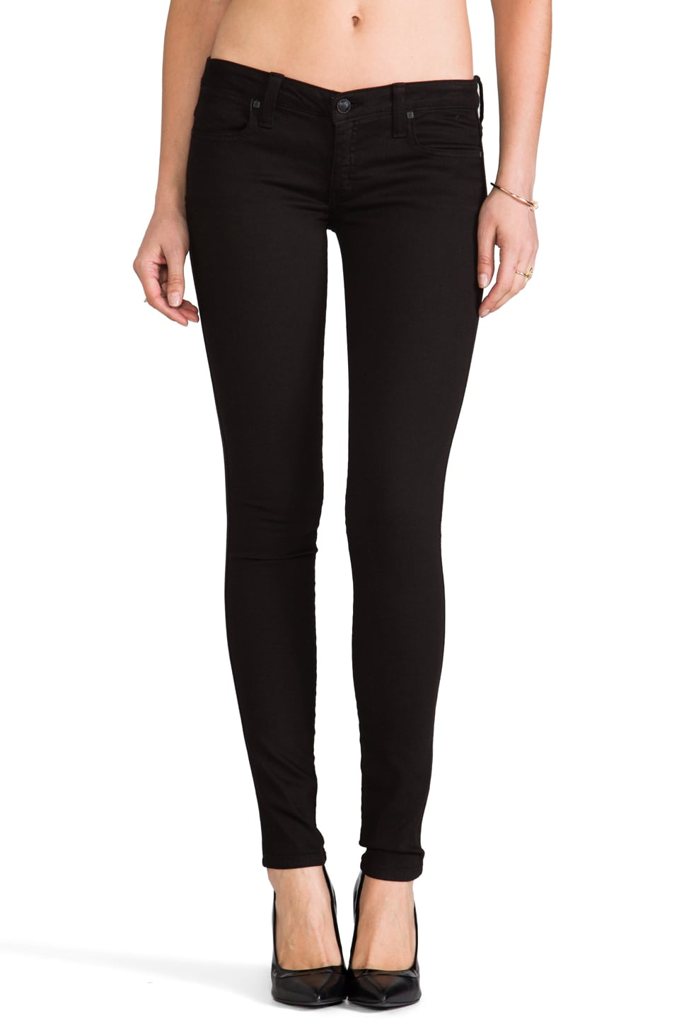 Frankie B. Jeans My BFF Legging in Black
