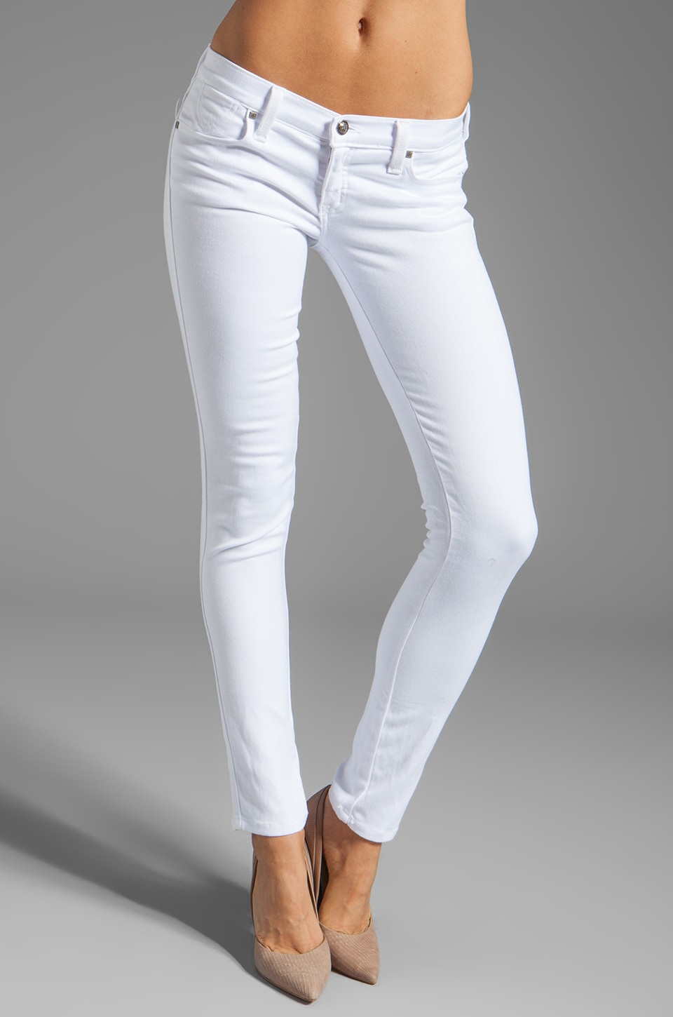 Frankie B. Jeans My BFF Jegging in White