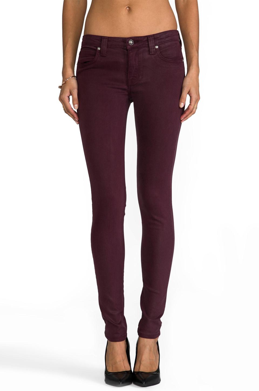 Frankie B. Jeans Perfect Skinny in Slick Bordeaux