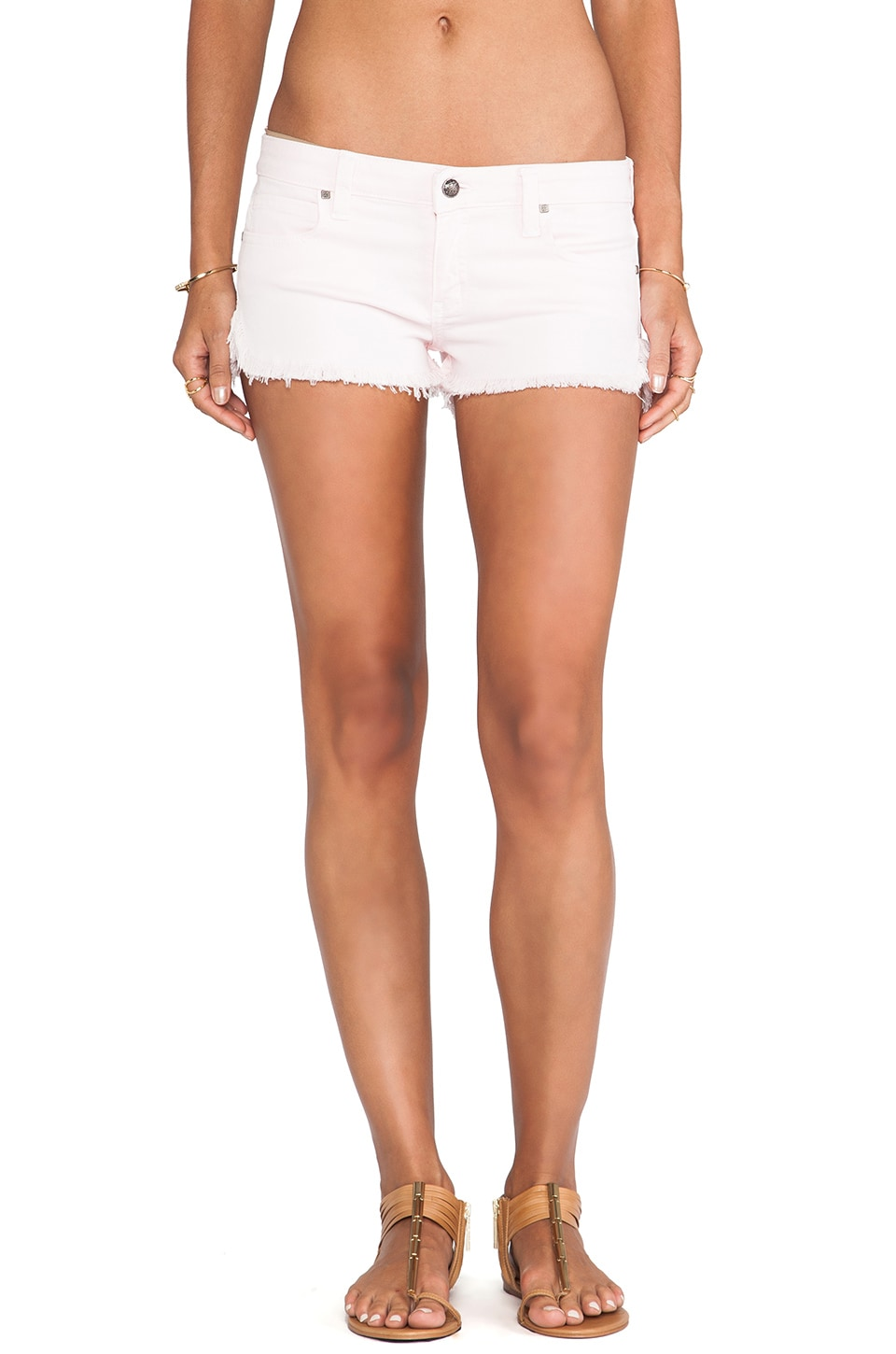 Frankie B. Jeans Jeanie Run Short in Lotus
