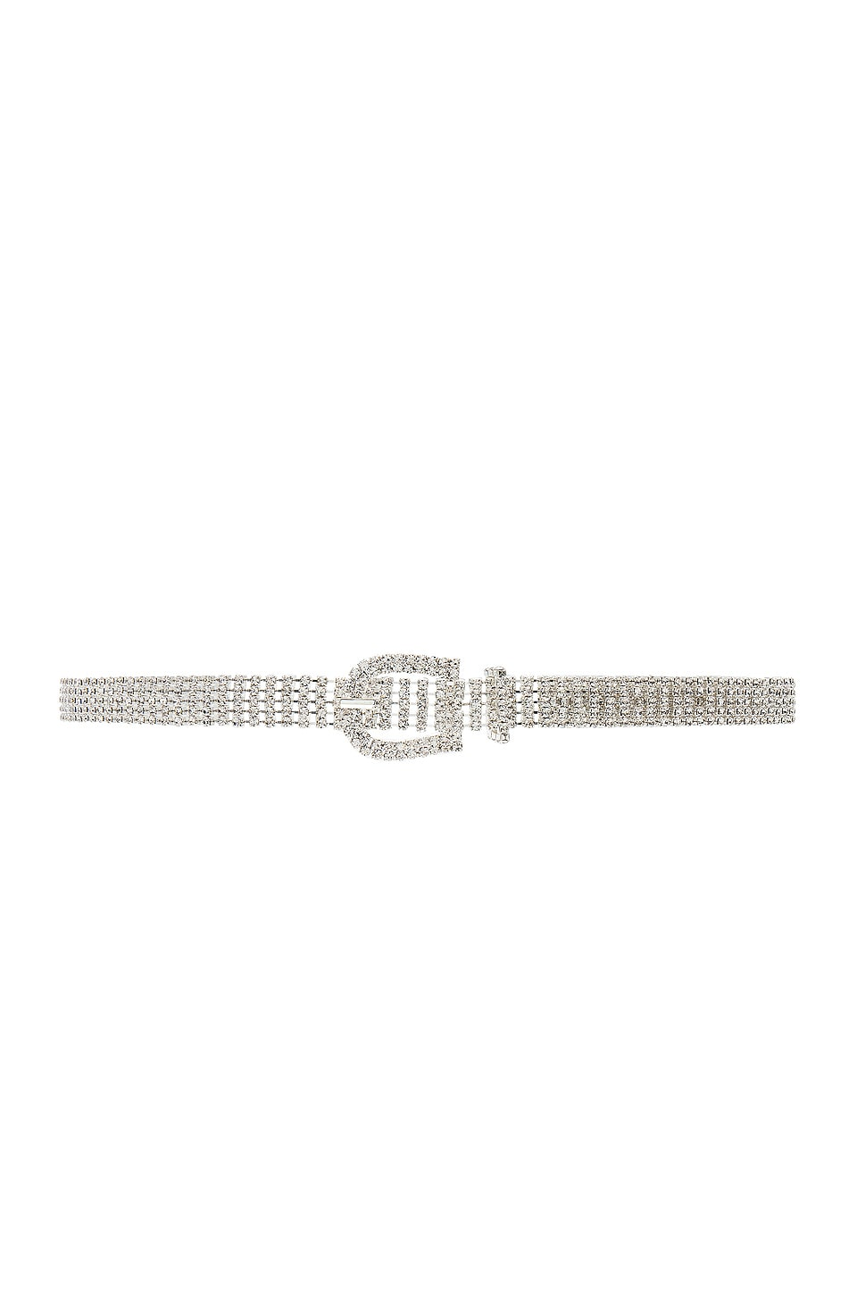 Frasier Sterling Dancing Queen Belt in Crystal