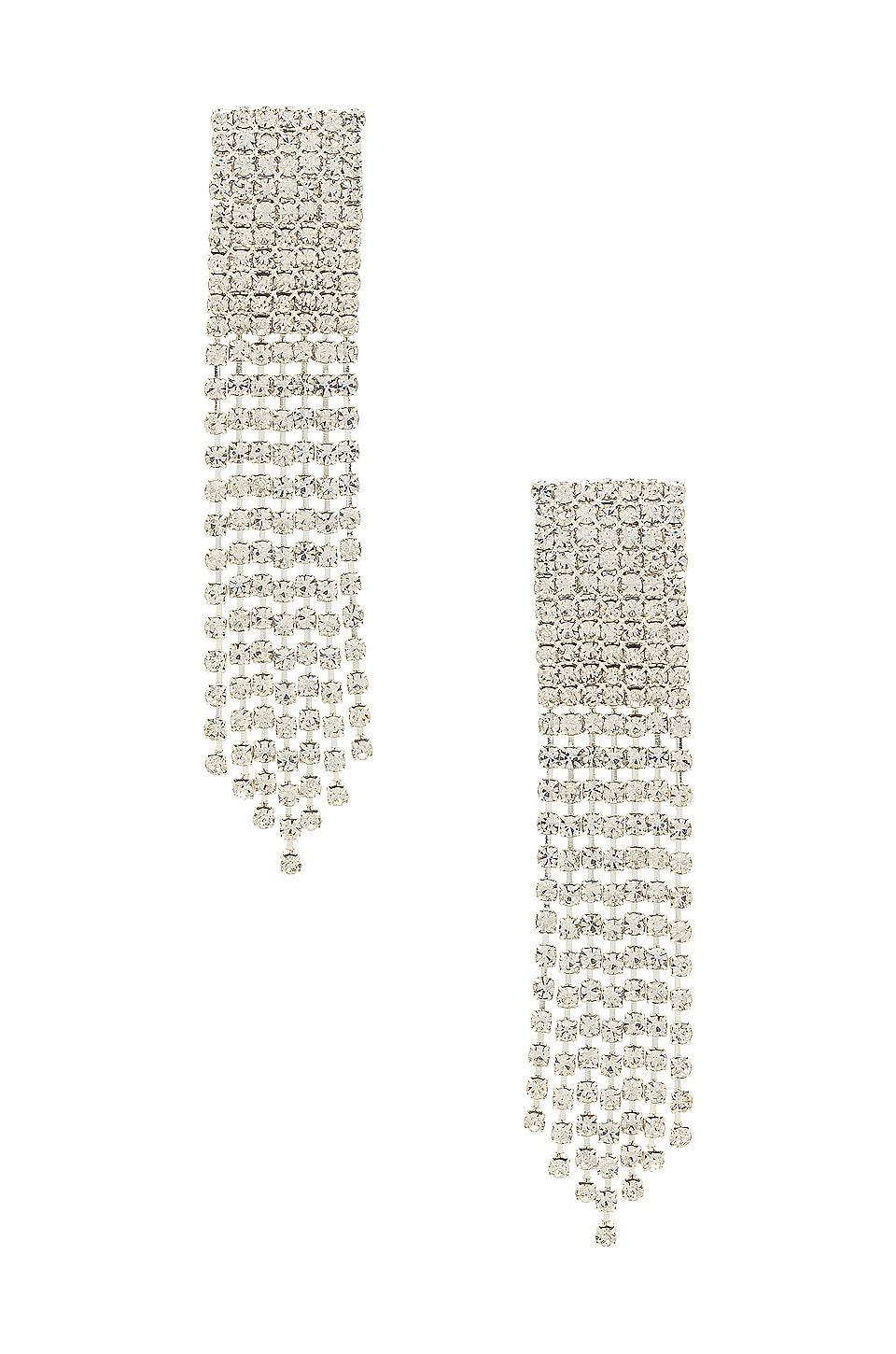 Frasier Sterling Ice Ice Baby Earrings in Crystal