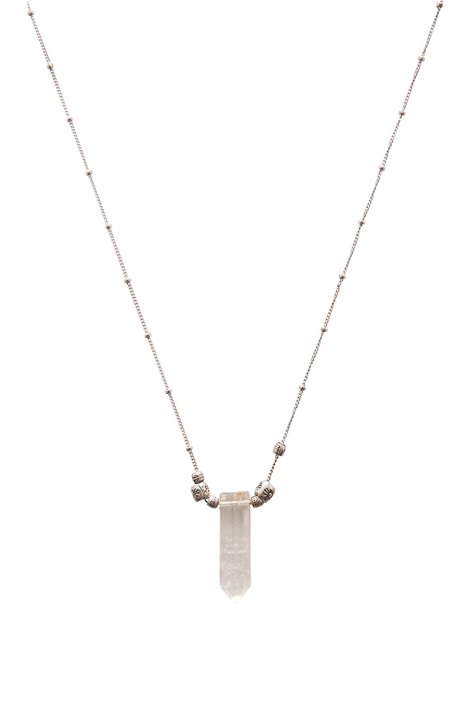 Frasier Sterling Delilah Necklace in Crystal