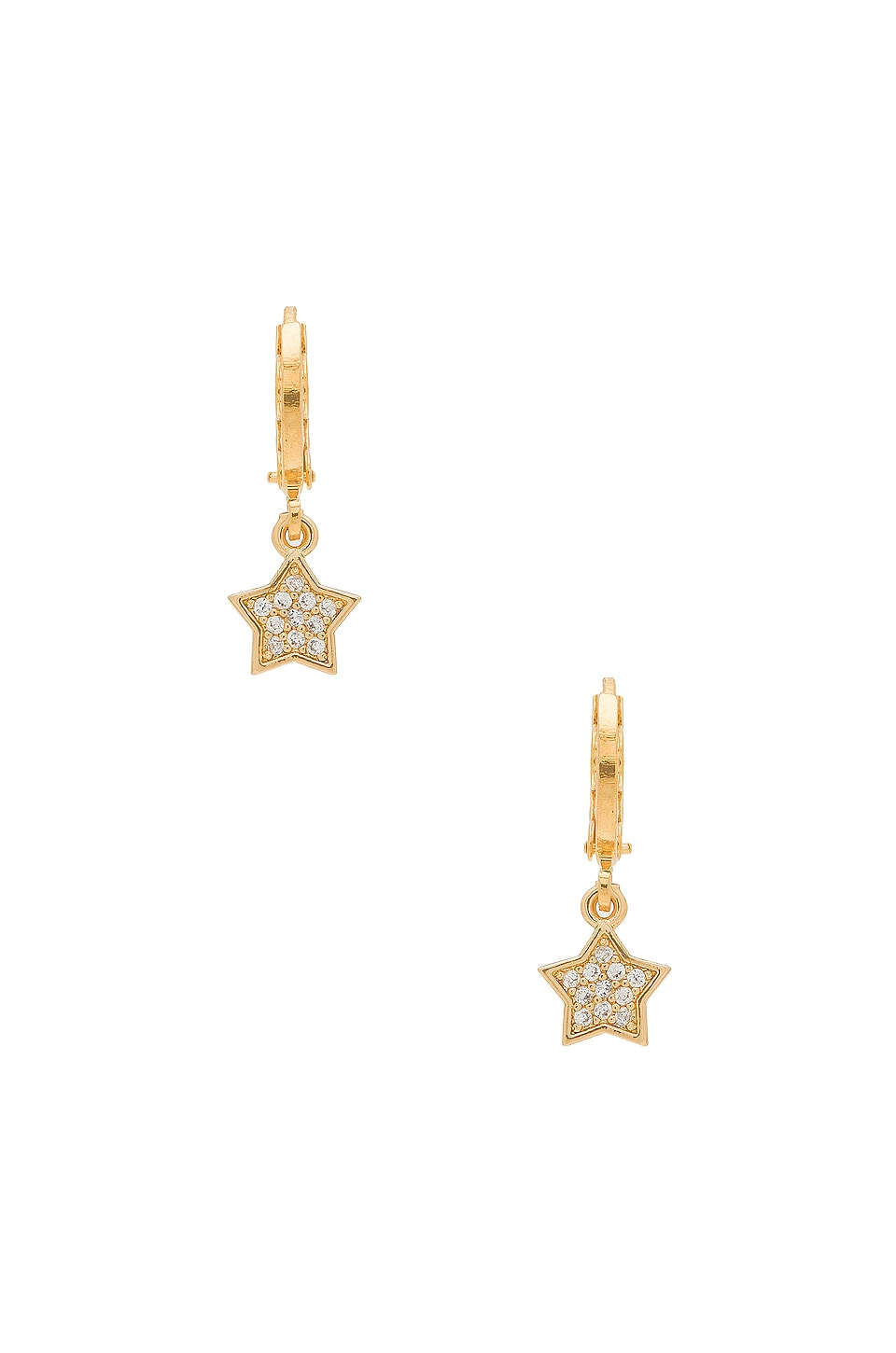 Frasier Sterling Wild & Free Huggie Earrings in Gold
