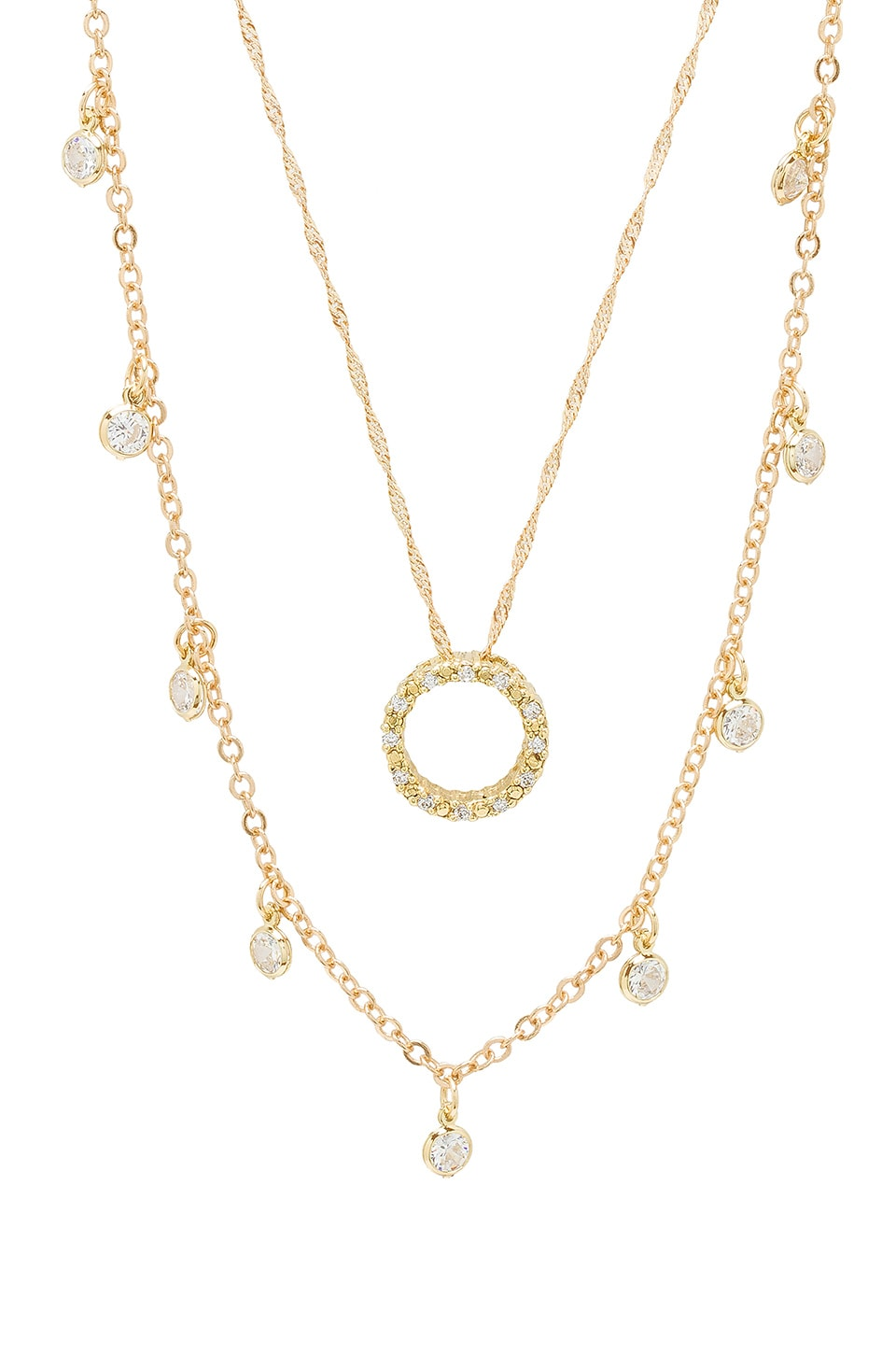 FRASIER STERLING WHAT GOES AROUND NECKLACE SET