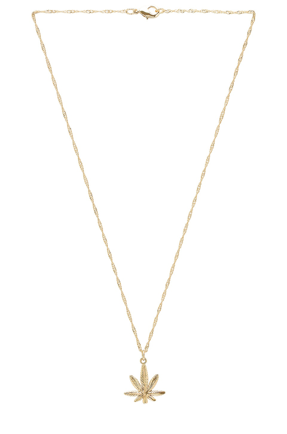 Frasier Sterling Mary Jane Necklace in Gold