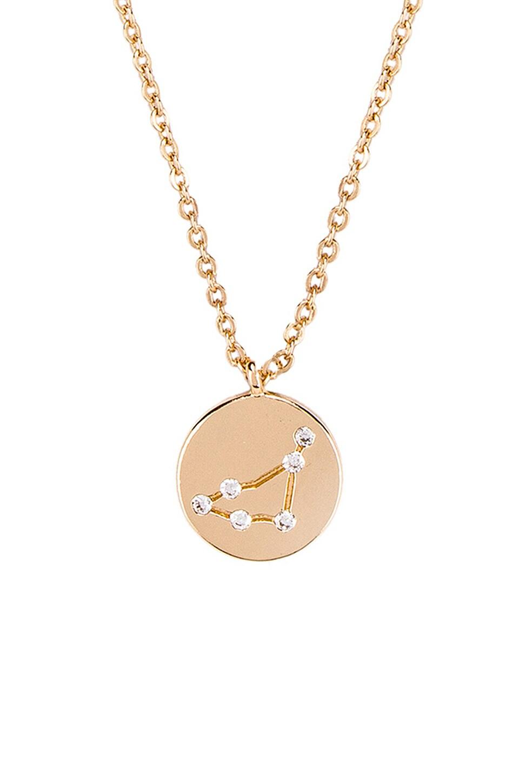 Frasier Sterling Capricorn Written in the Stars Necklace in Gold