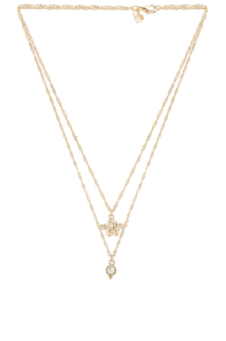 Frasier Sterling You're My Angel Prelayer Necklace in Gold