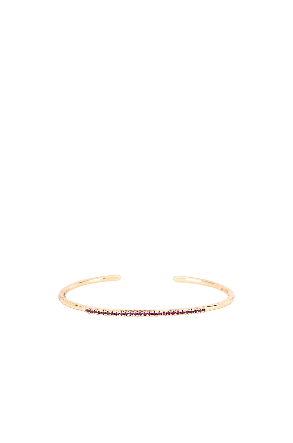 Frasier Sterling Cute AF Cuff in Rose
