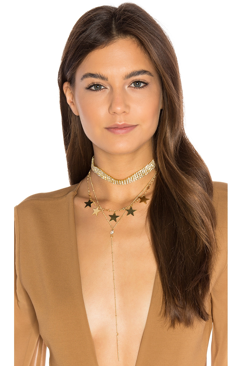 Disco Queen Layer Necklace by Frasier Sterling