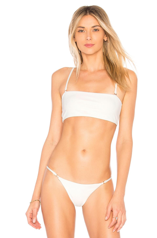 Frankies Bikinis Scarlett Top in White