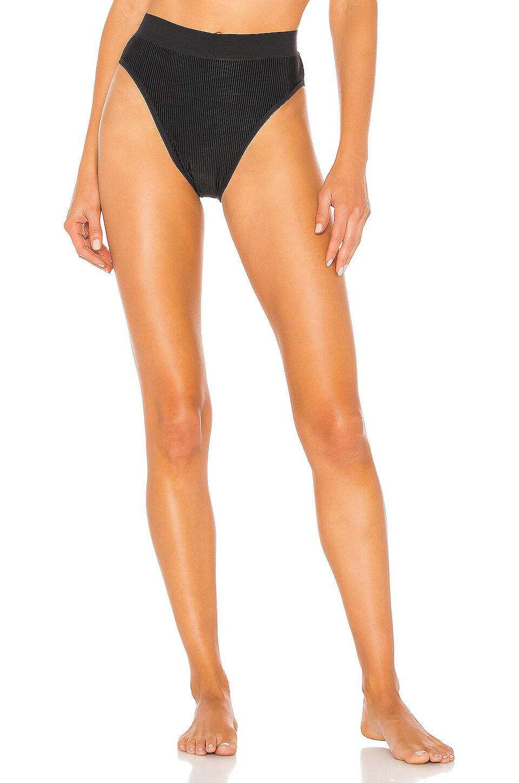 Frankies Bikinis Gabrielle Bottom in Black