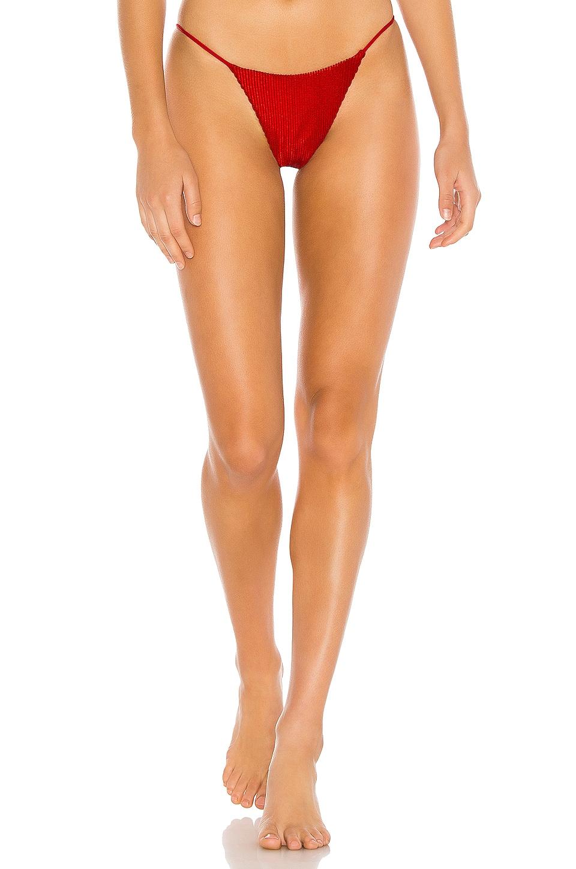 Frankies Bikinis Firefly Bottom in Red