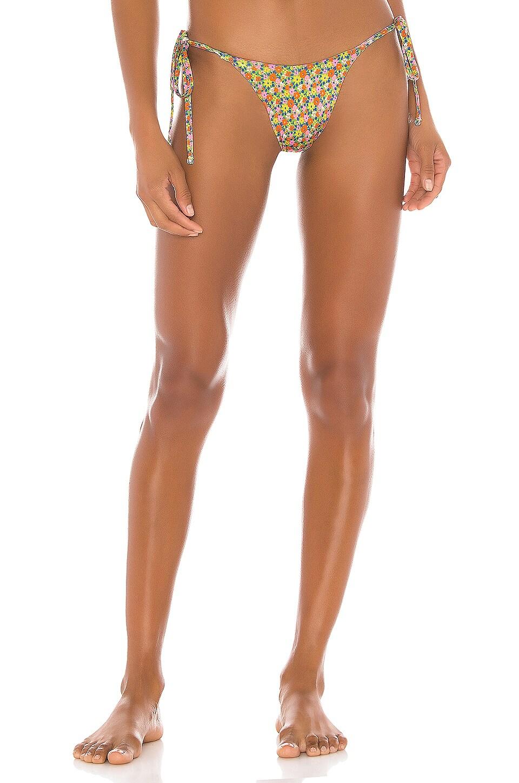 Frankies Bikinis Mackenzie Bottom in Hippie
