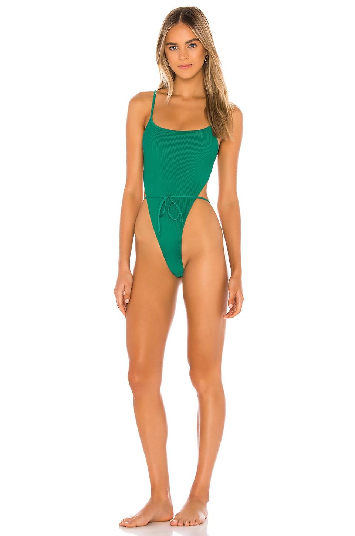 Frankies Bikinis Croft One Piece in Emerald