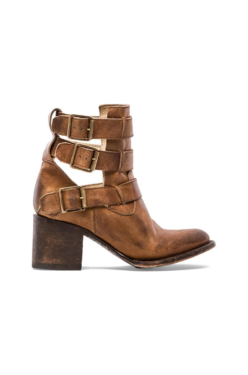 Freebird by Steven Rollin Bootie in Tan