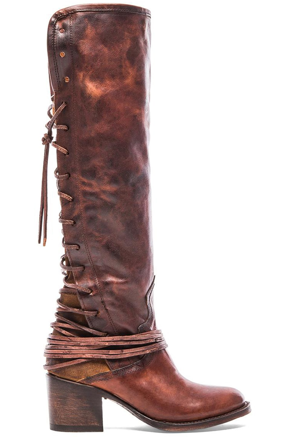 Freebird by Steven Coal Boot in Cognac