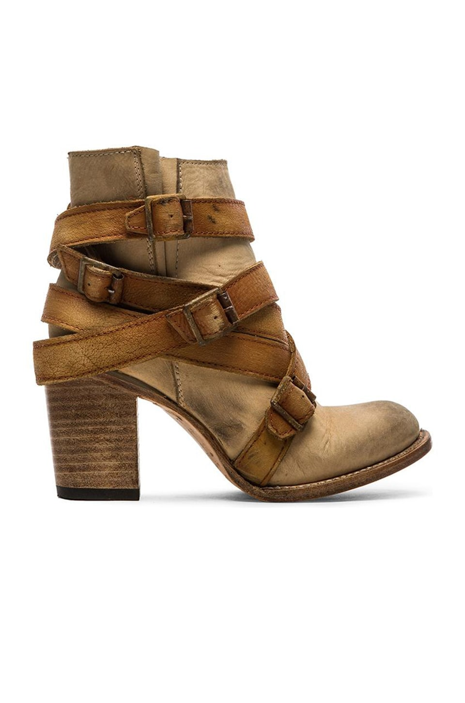 Freebird by Steven Hustle Boot in Natural Multi