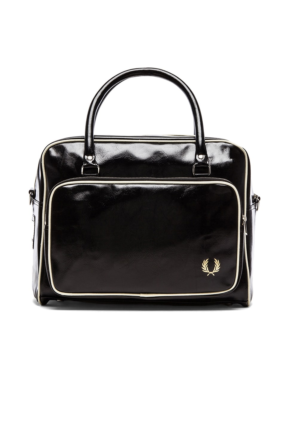 Fred Perry Classic Holdall in Black & Ecru