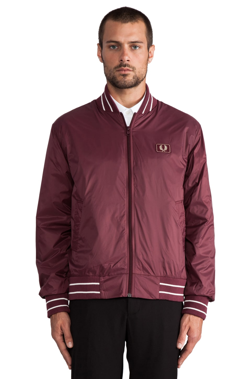 Fred Perry Tipped Bomber in Port