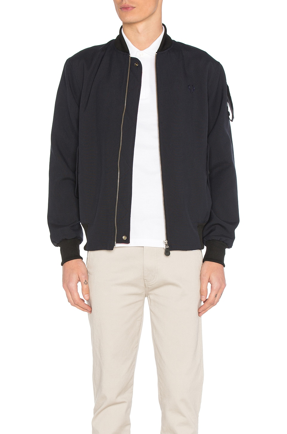 x Art Comes First Bomber Jacket by Fred Perry