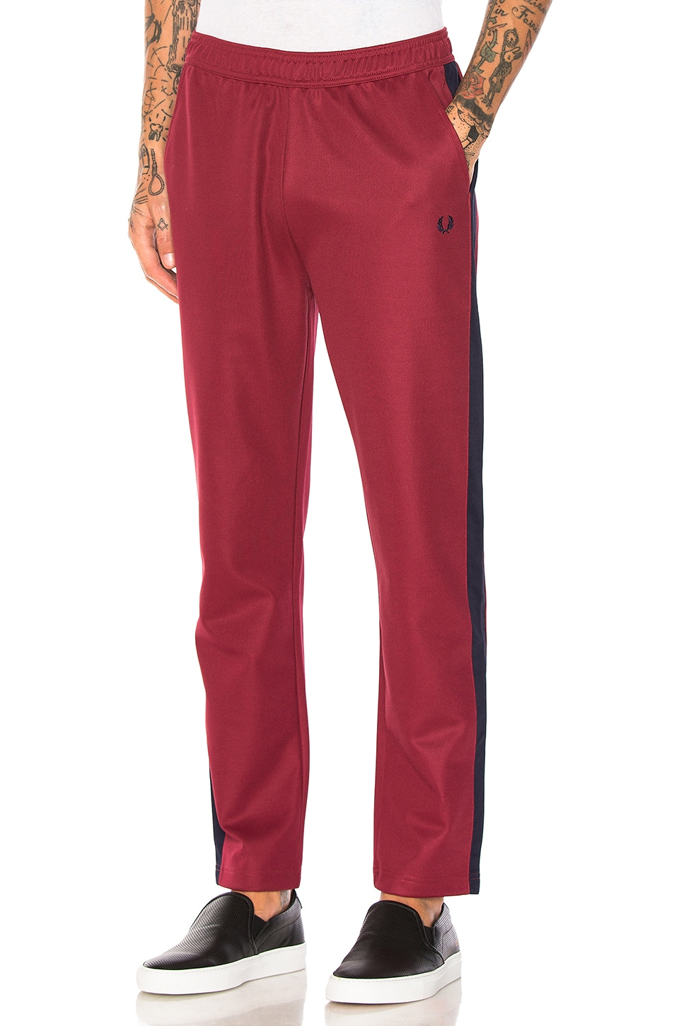 Contrast Panel Track Pants by Fred Perry