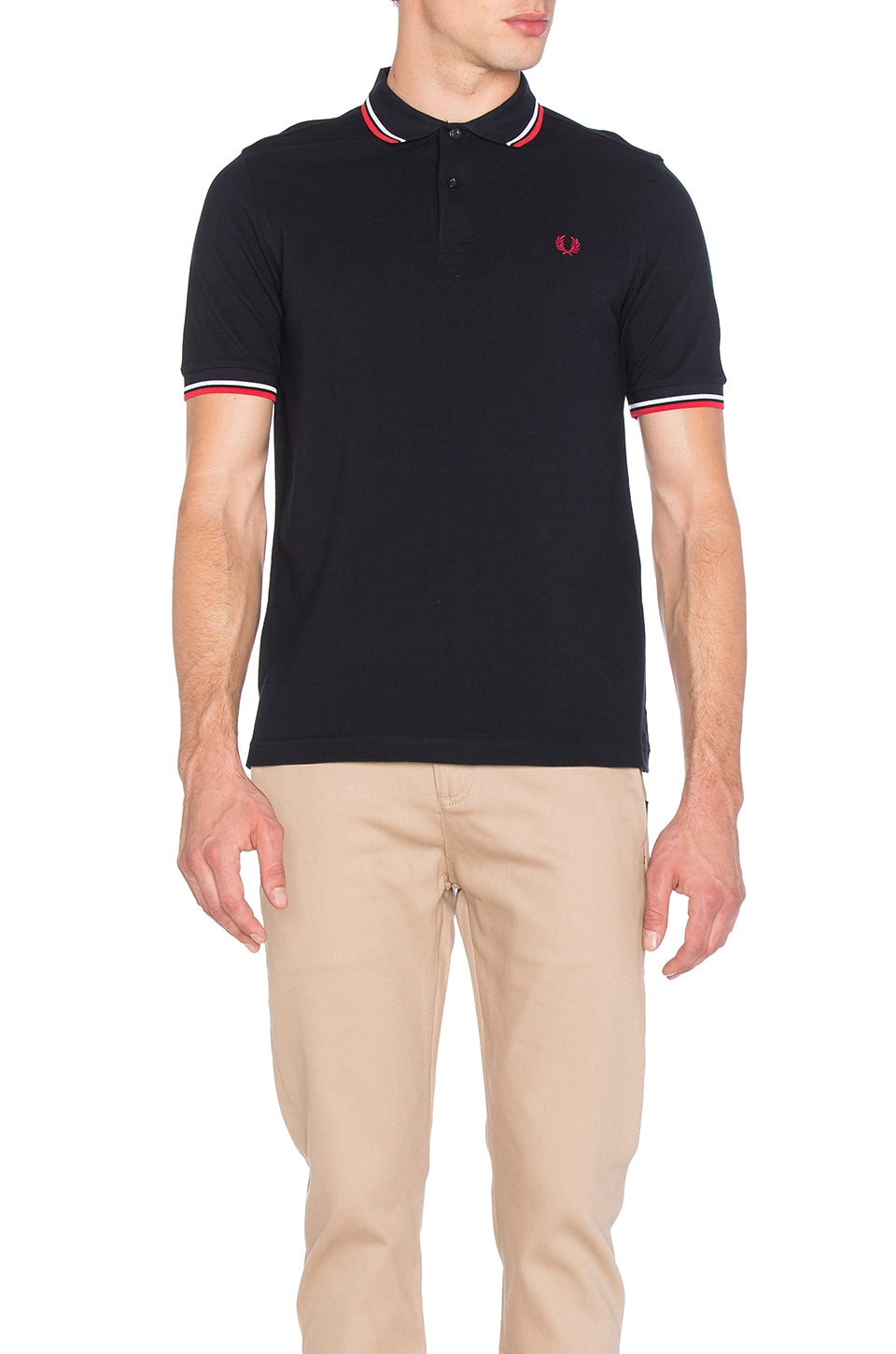 Slim Fit Twin Tipped Polo by Fred Perry