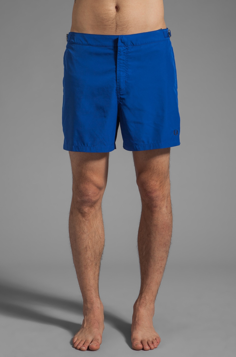 Fred Perry Side Adjuster Short in Regal Blue