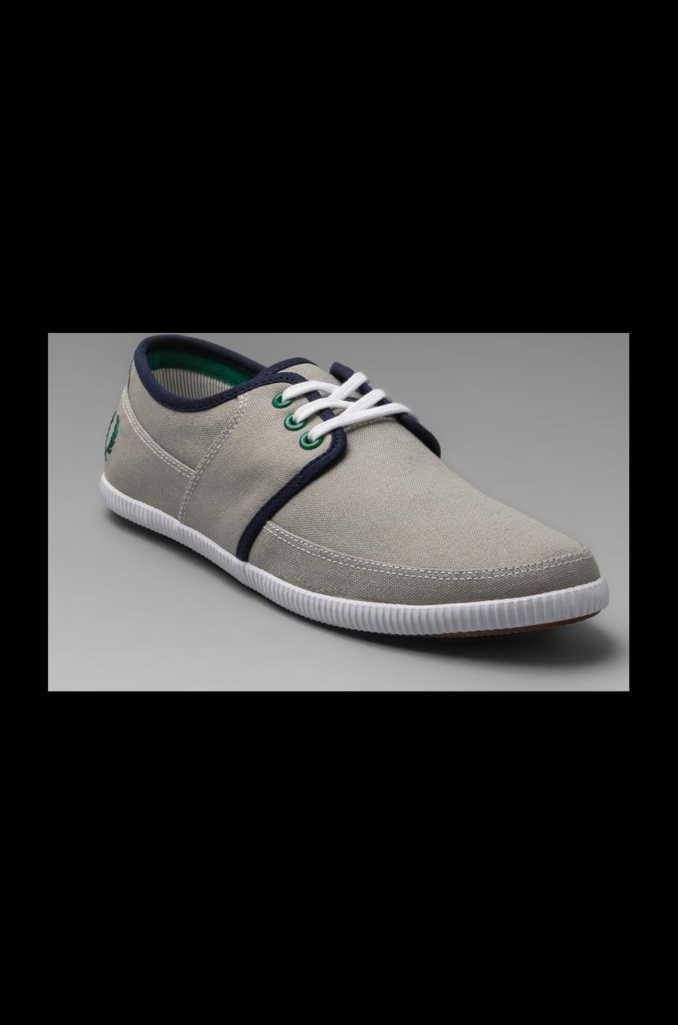 Fred Perry Tonic Canvas in Chrome/Privet/Carbon Blue