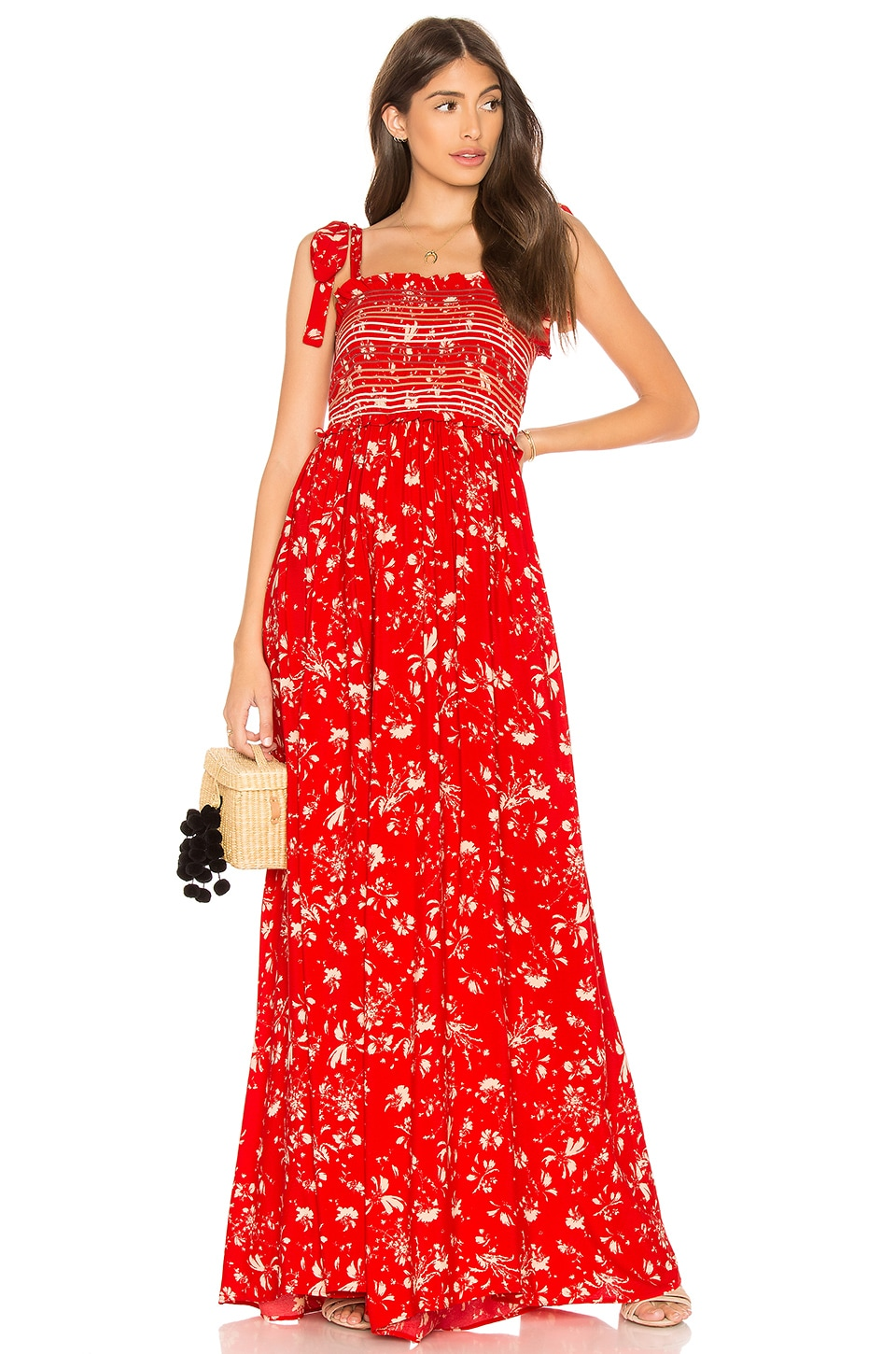 Free People Color My World Jumpsuit en Red
