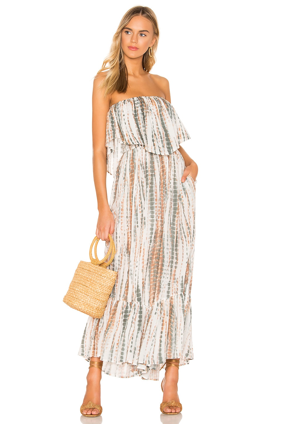 c9189fdd1a1c Free People Summer Vibes Tube Jumpsuit in Ivory | REVOLVE