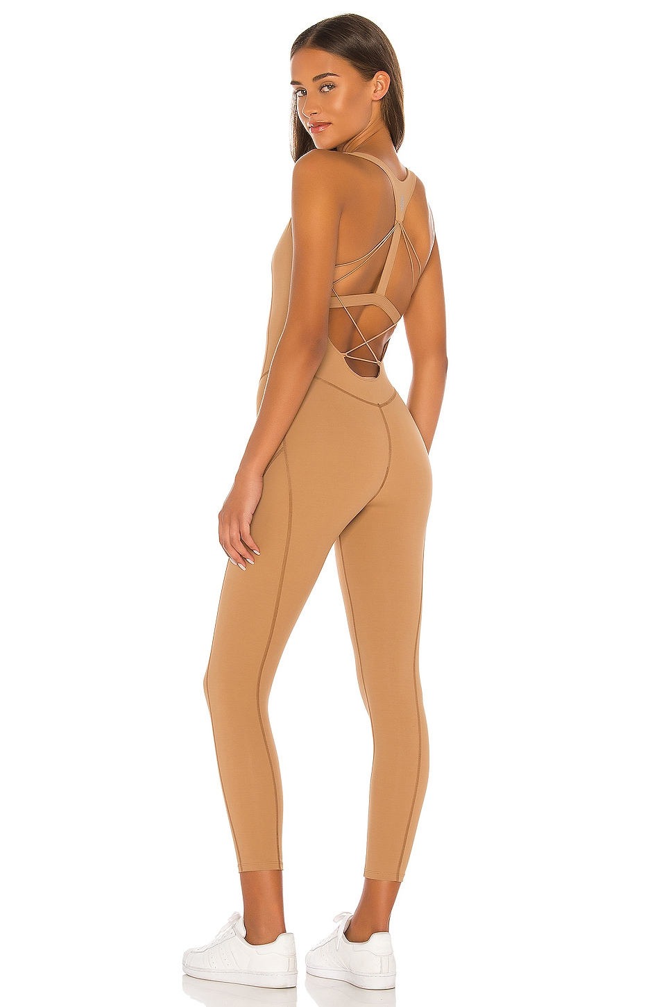 Free People X FP Movement Nirvana Now Onepiece in Khaki