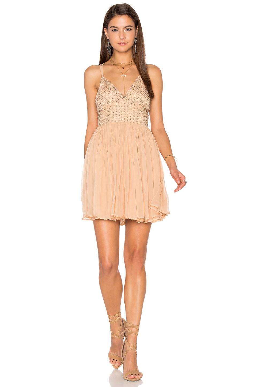 4ac5d56f5aa22 Free People Like a Diamond Dress in Peach | REVOLVE