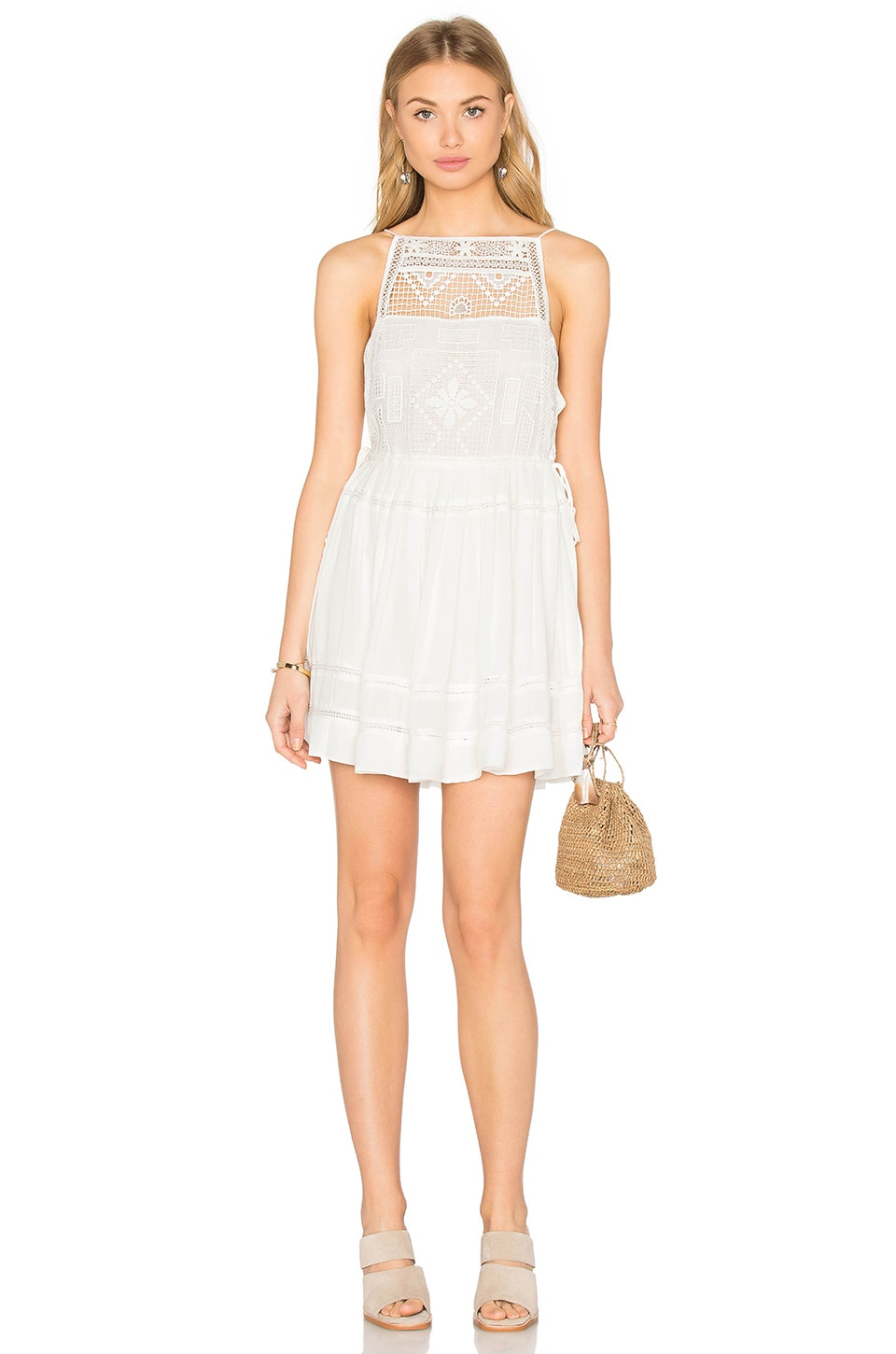 Free People Emily Dress in White