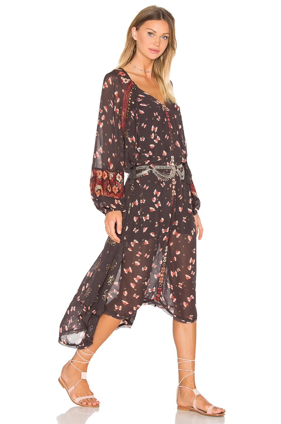 Viceroy Printed Dress by Free People