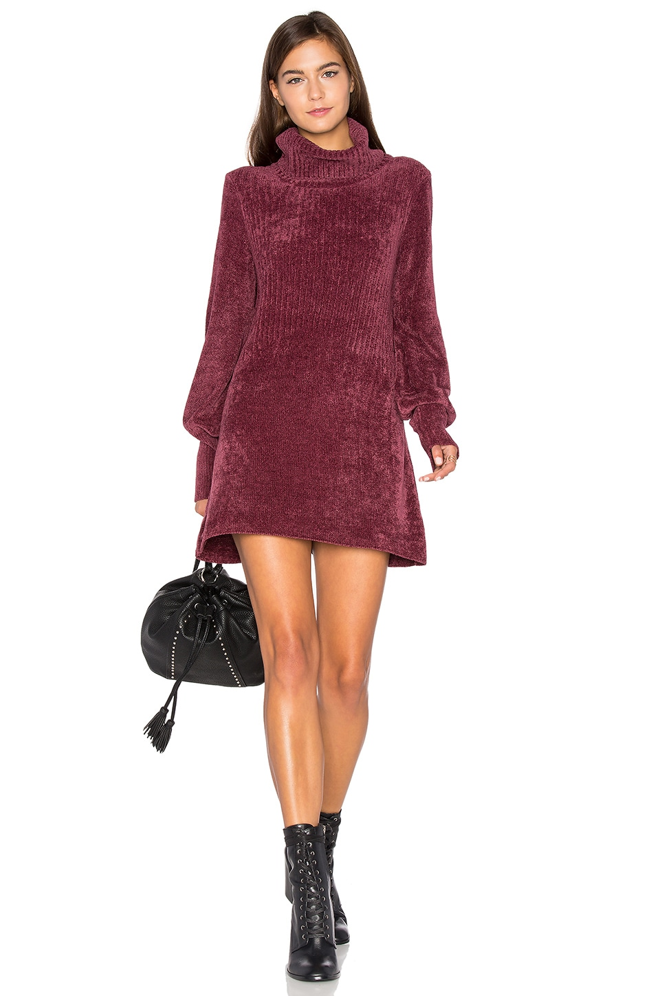 New Moon Chenille Tunic Sweater by Free People