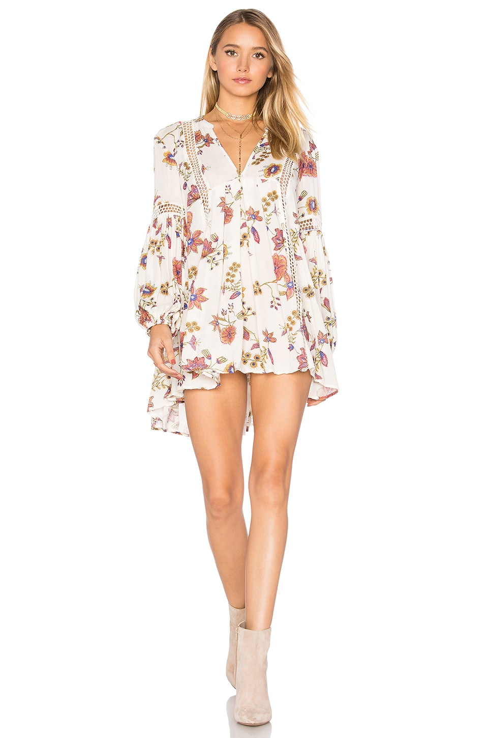 buy Just the Two of Us Tunic Dress by Free People dresses online shopping