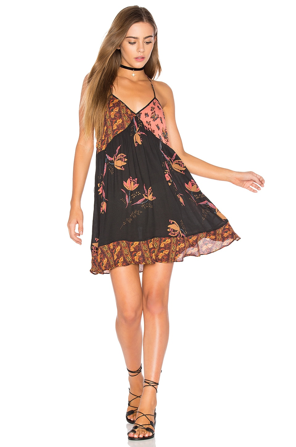 buy All Mixed Up Slip by Free People dresses online shopping