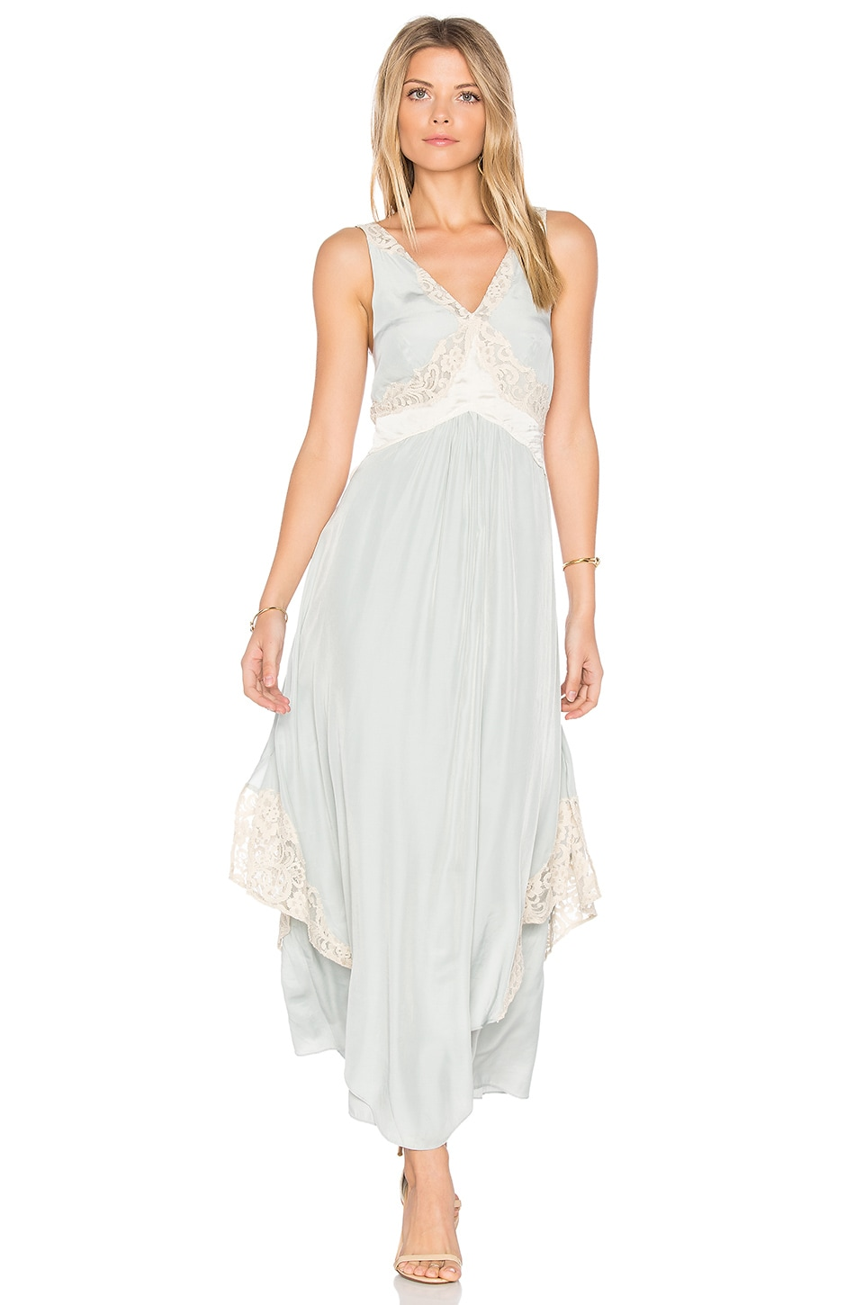 Free People Baby Love Maxi Dress in Mint | REVOLVE