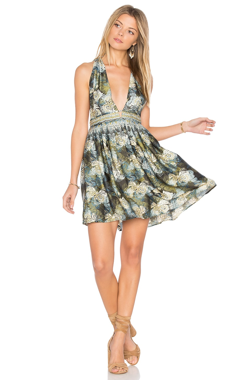 Daydream Mini Printed Dress by Free People