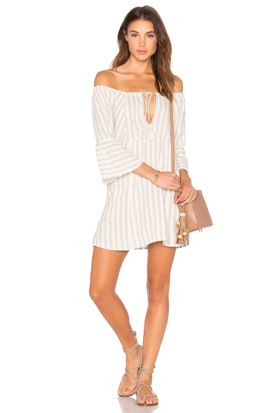 Free People Folk Town Mini in Neutral Combo