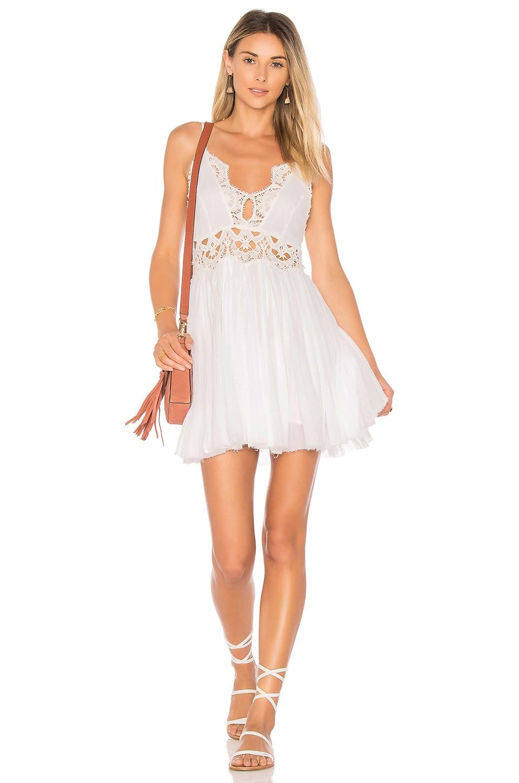 8f4f167081c8 Free People Ilektra Mini Dress in White | REVOLVE
