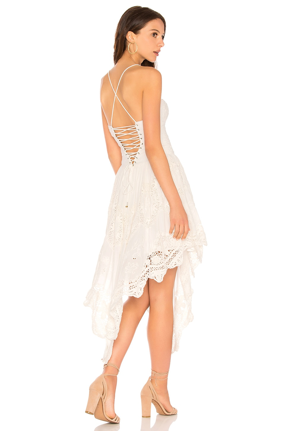 LOVE TO LOVE YOU CUTWORK DRESS