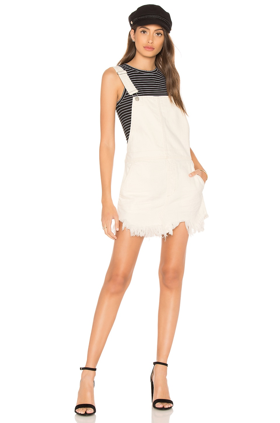 461ea2717a2 Free People Torn Up Jumper in White