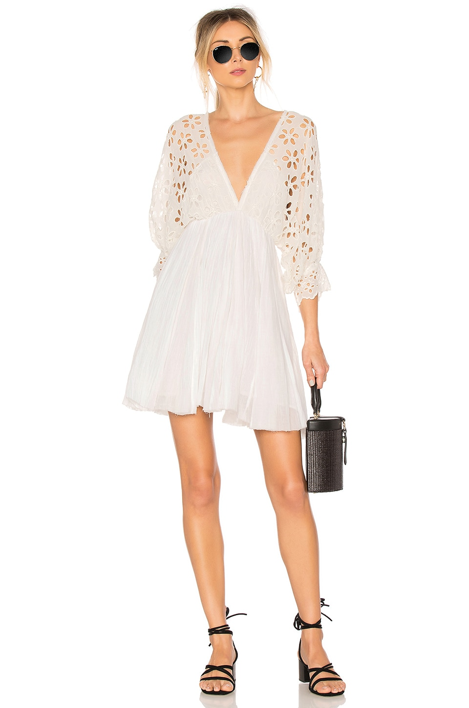 Free People Bella Note Dress in Ivory