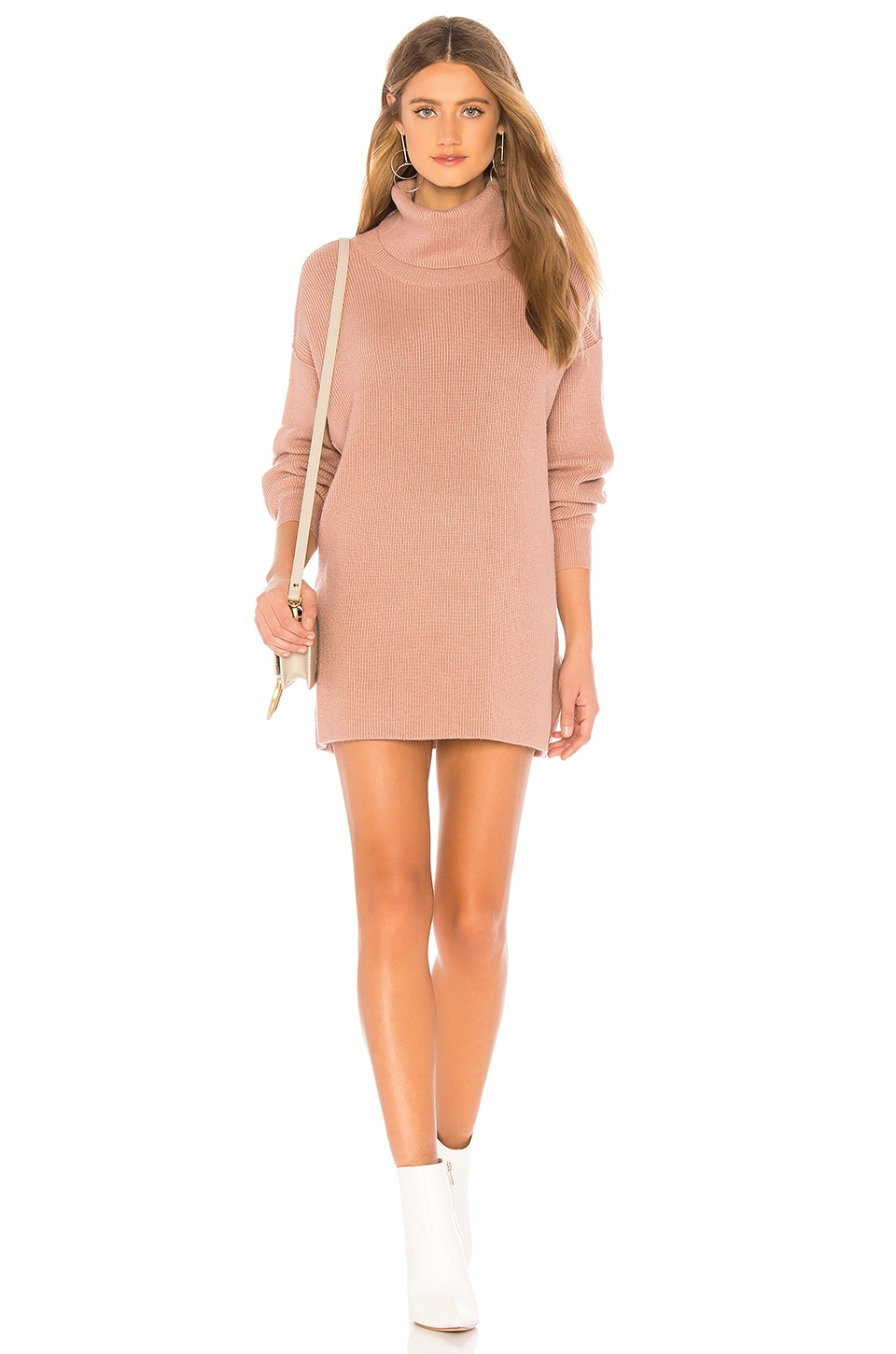 Free People Softly Structured Tunic in Mauve